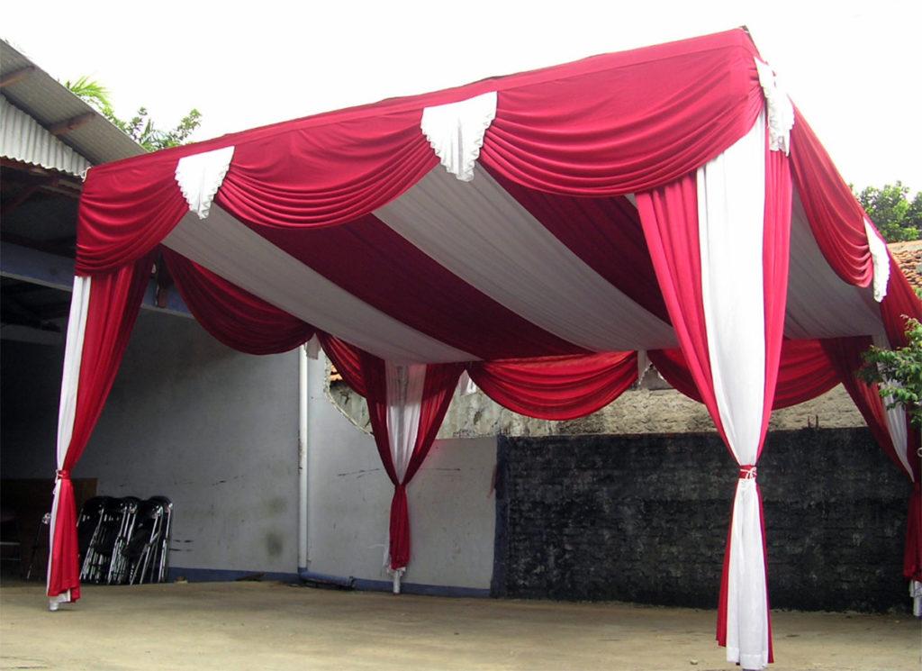 Menyewakan Tenda Tanpa Tiang Tengah untuk Acara Pesta di Bali