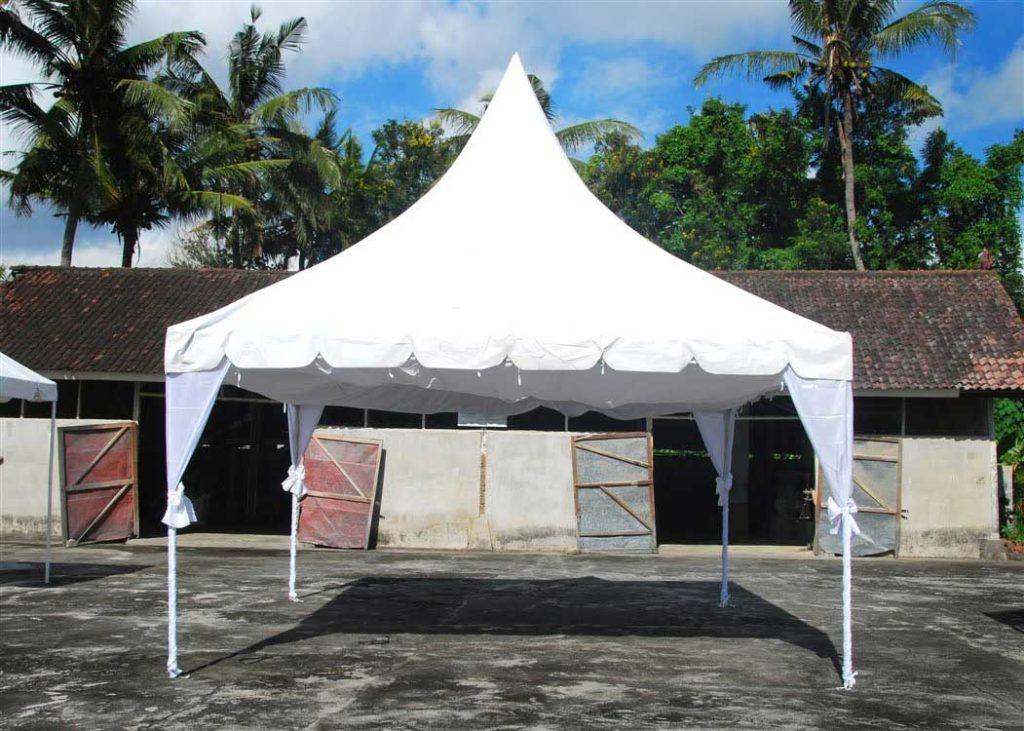 Menyewakan Tenda Kerucut Murah Untuk Pesta di Bali